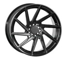 20 F1R F29 DOUBLE BLACK WHEELS FOR LEXUS IS250 IS350 ISF