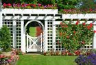 Floral Garden Frehch Doorframe Photo Background 3x2ft/7x5ft/10x8ft Backdrops