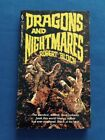 DRAGONS AND NIGHTMARES FIRST EDITION PAPERBACK ORIGINAL SIGNED BY ROBERT BLOCH