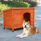 Dog House Pet Outdoor Large Weather All Durable Shelter Kennel Dog house Wood