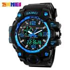 SKMEI Herren Wasserdicht LED Uhr Analog Digital Quarz Sports Manner Armbanduhr