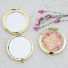 """Natural Life """"Don't let anyone dull your sparkle""""6.3cm-2.5indiam.Compact Mirror"""