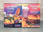 NEW Weight Watchers Dining Out Complete Food Companion Books 2001 Winning Points