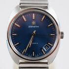 1970s New Old Stock MINT Zenith Automatic Steel 17j Cal 2572 Hi Beat 28,800