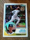 2018 Topps Series 1 Silver Pack 83 Chrome Refractor Miguel Andujar 38 SP RC