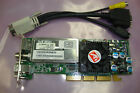 ATI 102A0260311 DELL N1708 64MB AGP HALF HEIGHT SFF GRAPHICS CARD W OUT ADAPTER