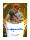 2013 BOWMAN STERLING SHELBY MILLER RC GOLD REFRACTOR AUTO AUTOGRAPH DBACKS 21 50