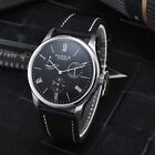 41.5mm Parnis black dial power reverse polished case seagull automatic watch 03