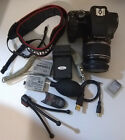 Canon EOS Rebel XS 1000D 101MP Digital SLR Camera w EF S 18 55mm Lens Acceso