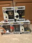FUNKO POP AMERICAN HORROR STORY COVEN SET OF 5 WITH 2 HOT TOPIC EXCLUSIVES