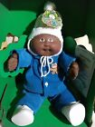 1983 Cabbage Patch Kids Black African American Bald Boy Doll Excellent VERY RARE