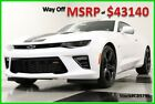 Chevrolet Camaro MSRP43140 SS Sunroof Leather Summit White Coupe New Navigation 62L V8 Camera Bluetooth Remote Start 17 2017 18 Automatic