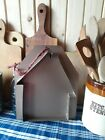 Primitive Metal Salt Box House Candle Plate Mold or Wall Decor NEW REPRODUCTION