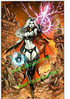 LADY DEATH APOCALYPTIC ABYSS ART PRINT PAOLO PANTALENA  BRIAN PULIDO SIGNED