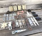 Vintage Lot of Barn Farmhouse Hinges and Latches ~ Vintage Farm Hardware