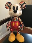 Disney 2018 Bold  Bright Mickey Mouse Memories March Limited Edition Plush NWT