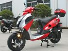 Brand New 149cc Scooter Moped 55MPH 80MPG Powermax 150 Free trunk Free S H