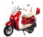 NEW under 50cc Moped 49cc Retro Vintage Gas Scooter Motor Bike 100 Street Legal