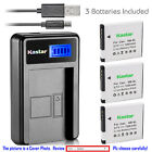 Kastar Battery LCD USB Charger for Canon NB-8L NB8L & Canon PowerShot A3200 IS