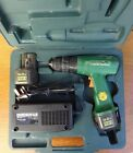 Hitachi FDS 10DVA Cordless Drill Driver with charger and case, NEEDS BATTERY