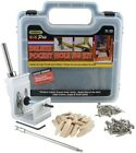 General Tools EZ Pro Deluxe Pocket Hole Jig Kit Wood Working Screw Drill