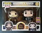 Funko Pop! Lord of the Rings Aragorn & Arwen #2 2-pack 2017 SDCC Exclusive