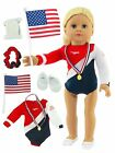 "Super Fun Gymnastic Set | Fits 18"" American Girl Dolls Made such as American Gir"