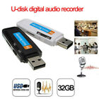 2018 New UDisk Digital Audio Voice Recorder USB Flash Drive up to 32GB Micro SD