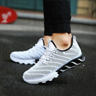 Mens Lace Up Shoes Outdoor Sports Walking Meash Sneaker Running Casual Athletic