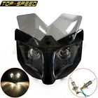 Motorcycle Fairing Dual Headlight 35-54mm Bracket Street Fighter Naked Dominator