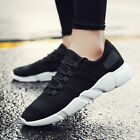 Mens Sports Shoes Flying Woven Sneaker Running Mesh Breathable Lightweight New