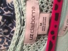 Liz Claiborne 2 pc open weave sweater and tank sz M & S note that