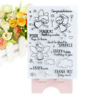 Birthday Girl Clear Silicone Stamps for DIY Scrapbooking Album Cards Diary JB