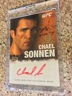 2010 Topps UFC Series 4 Red Ink 1st Auto - CHAEL SONNEN 01 15 - Rookie Bellator