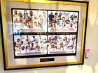 """Lithograph  """"Super Hero's of Sorts"""" signed by 68 HOFers from MLB, NHL,NFL,NBA."""