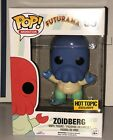 Funko Pop HT Exclusive (Sold Out) Futurama Blue Zoidberg 55 NEW GREAT CONDITION