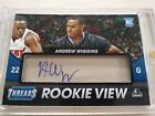 Andrew Wiggins 2014-15 Threads Rookie View Auto Timberwolves