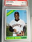 1966 Topps Willie Mays #1 PSA 8 NM-MINT (STUNNING!)