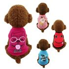 Pet Vest Clothes Summer T Shirt Dog Puppy Funny Cute Clothing Soft Fashion Cheap