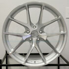 4 New 20 Aodhan LS007 LS7 Wheels 20x9 5x1143 30 Silver Machined Face Rims