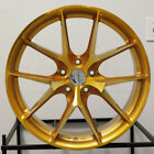 4 New 20 Aodhan LS007 LS7 Wheels 20x9 20x105 5x1143 30 35 Gold Machined Face