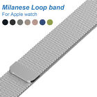 Milanese Loop band for Apple watch 42mm 38mm High quality Stainless Steel Link B