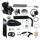 Bicycle 2 Stroke 50cc Petrol Gas Motorized Engine Bike Motor Kit Black DIY New