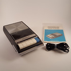 VINTAGE PANASONIC CASSETTE TAPE RECORDER W/INSTRUCTIONS RQ-209DAS FREE SHIPPING!