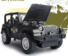 132 Jeep Rubicon Alloy Diecast Car Model Toys police car
