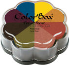 Clearsnap ColorBox Pigment Petal Point Ink Pad 8 Colors Provence