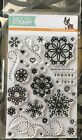 Simon Says Stamp Cute Snowflakes Clear Stamp Set Brand New