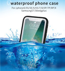 360° Waterproof Dustproof Rubber Phone Case Cover For iphone5/6S/7/8/7PLUS/X