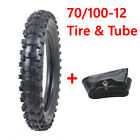 70 100 12 Tire Tyre and Inner Tube for 50cc 70cc 90cc 110cc 125cc Pit Dirt Bike