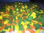 Handmade Yellow Green Orange Dog Pig Snuffle Mat Training Feeding Mats 48x24